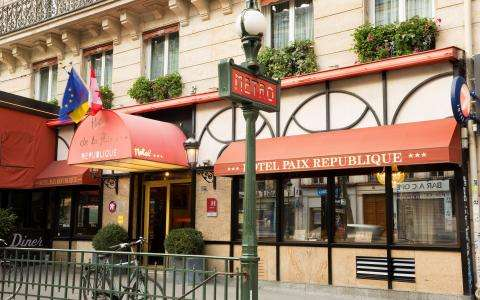 News from Hotel Paix République